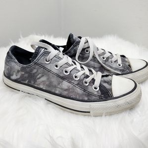 Converse All Star Tiedye Laceup sneakers.